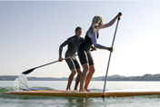 PRATIQUE DU PADDLE BOARD